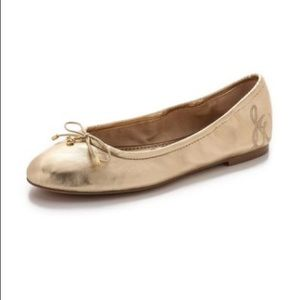 Sam Edelman Shoes - Sam Edelman Gold color flats